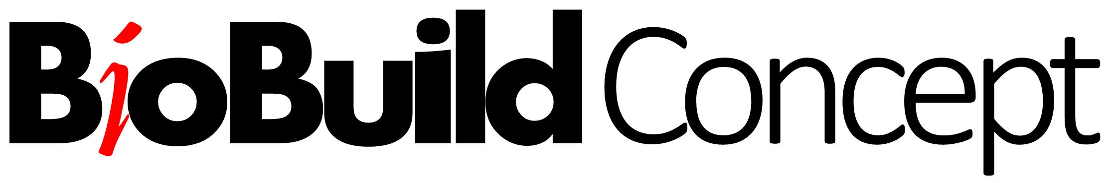 Logo : BioBuild Concept - agence novatrice dans la construction éco-durable, propose 3 types de prestations : - Etudes et analyses stratégiques - Accompagnement opérationnel - Stratégie et actions de communication