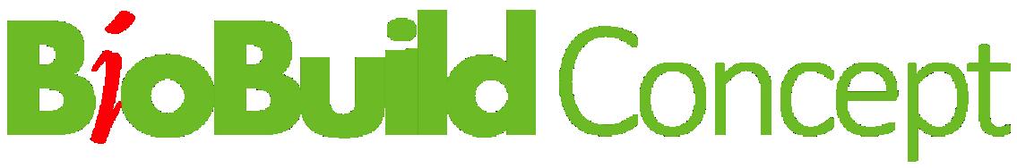 BioBuild Concept gence novatrice dans la construction éco-durable, propose 3 types de prestations : - Etudes et analyses stratégiques - Accompagnement opérationnel - Stratégie et actions de communication