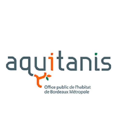 Logo Aquitanis Office public de l'habitat de Bordeaux Métropole